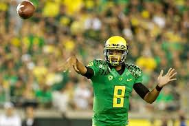 Oregon quarterback Marcus Mariota is set to lead Oregon in his second season as a starter.