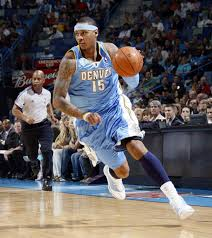 Carmelo Anthony was an offensive force in his years with Denver.