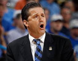 Coach Calipari brings to mind the archetype of a used-car salesman in both appearance and attitude.